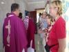 gemeinsamer Gottesdienst mit belgischer Reisegruppe