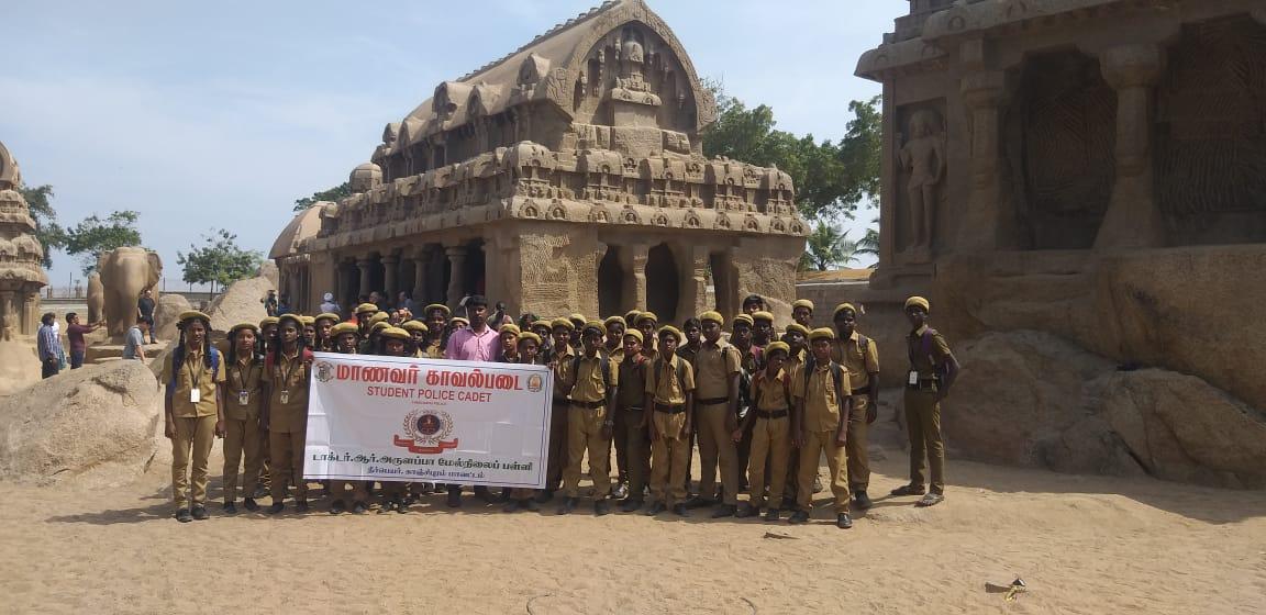 """Ausflug nach Mahabalipuram der AG """"Nachwuchspolizisten"""""""