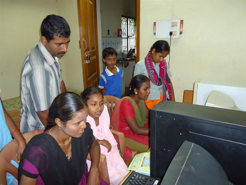 Computerunterricht in der Schule