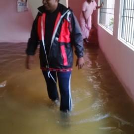 Spendenaufruf und Hilfsmaßnahmen für Flutopfer in der Region Chennai
